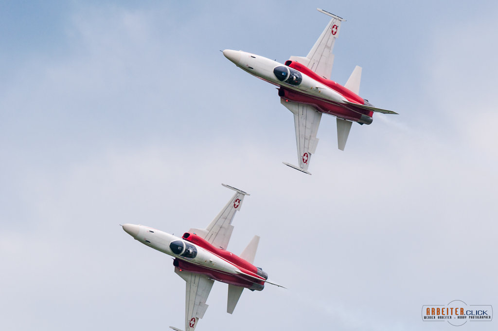 Patrouille Swiss on Airpower13